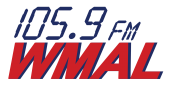 Mike Collins Legally Speaking WMAL 105.9 logo